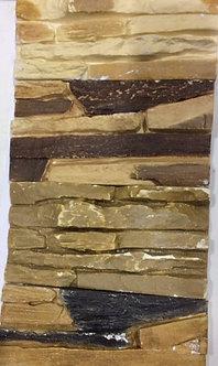 Плитка гипсовая, декоративная Скала С1  (крашеная)