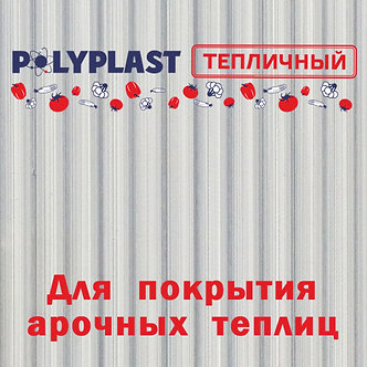 Сотовый поликарбонат POLYPLAST прозрачный 4мм