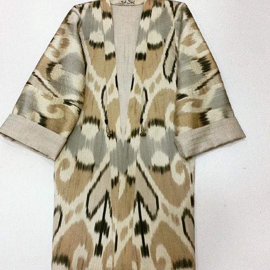 Uzbek Ethnic Chapan Designer: Sa-Sha