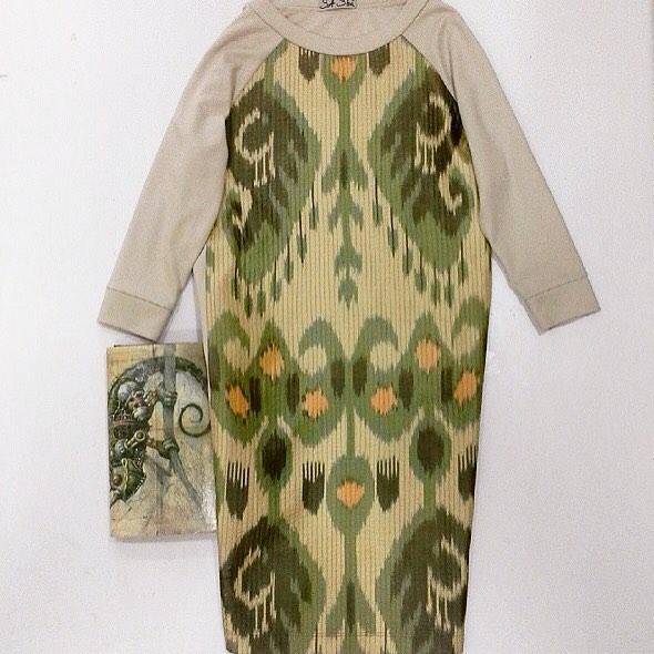 Uzbek Ethnic Dress Designer: Sa-Sha