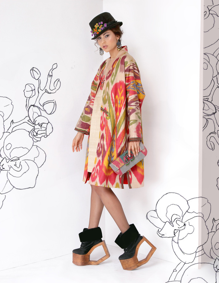 Lali, modern fashion trends, eastern charm, autumn 2016, new collection, ikat