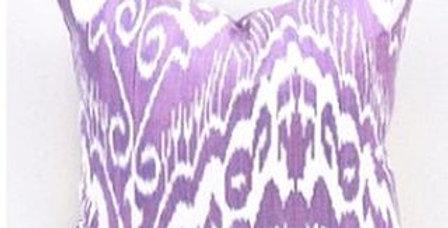 Adras style purple pillow