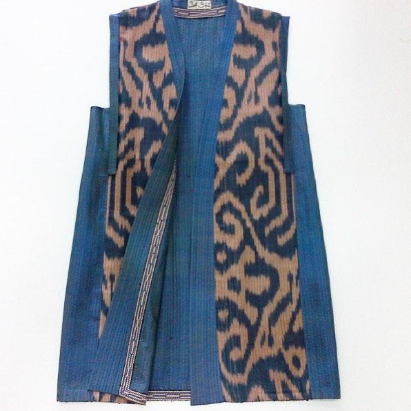 Uzbek Ethnic Jacket Ikat Designer: Sa-Sha