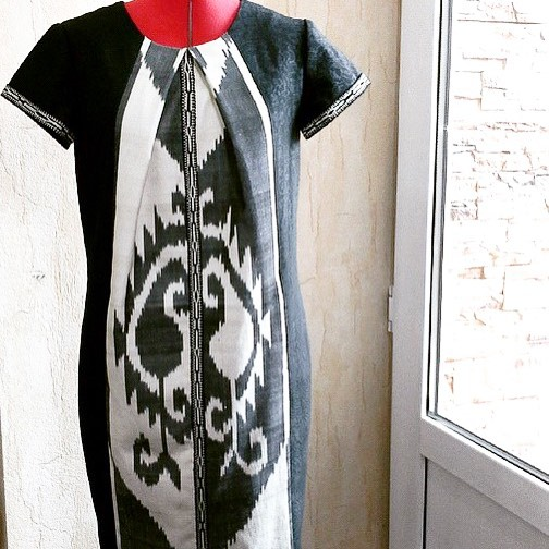 Uzbek Ethnic Casual DressDesigner: Sa-Sha Code: (SH28)