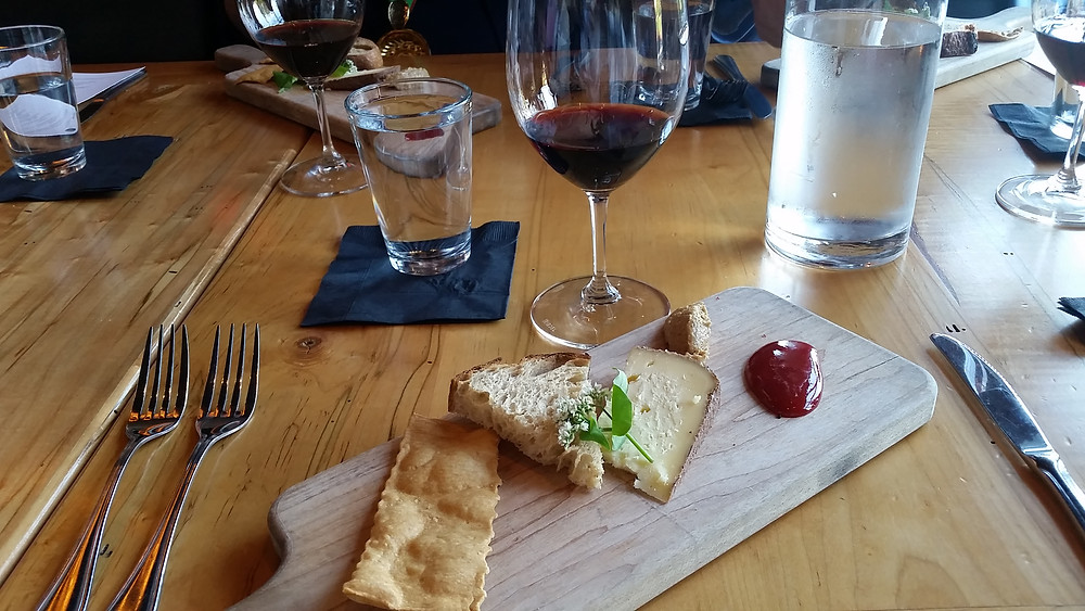 GIA: Drink.Eat.Listen 1st Course with Cellar 4201 Cherokee Red