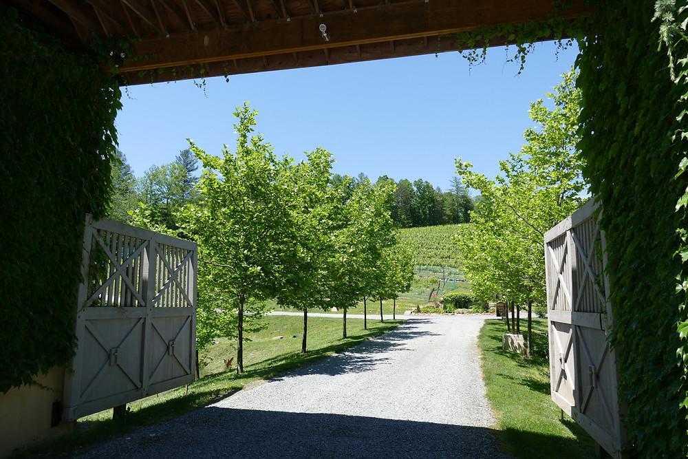 Roaring River Vineyards Entrance