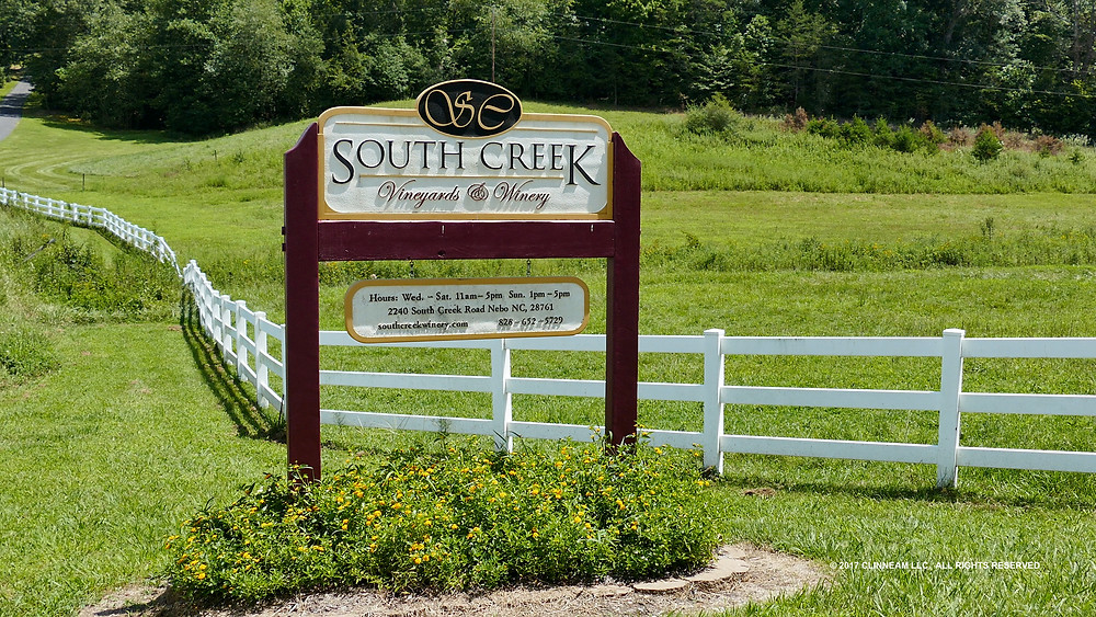 South Creek Vineyards and Winery Nebo, NC