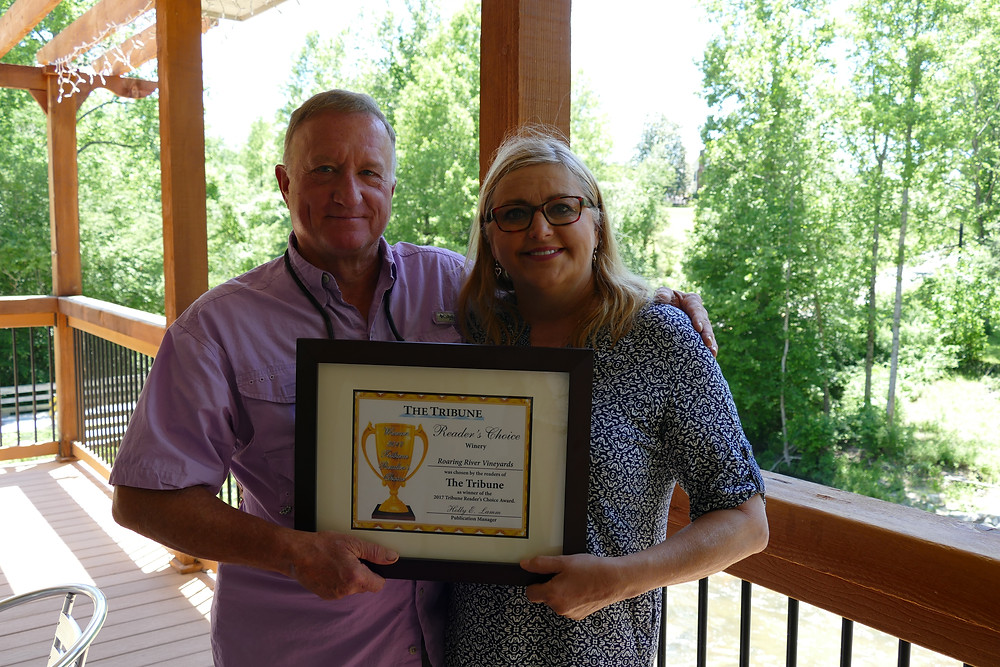 RoRiVineyards Best Vineyard Readers Choice 2017 Tribune