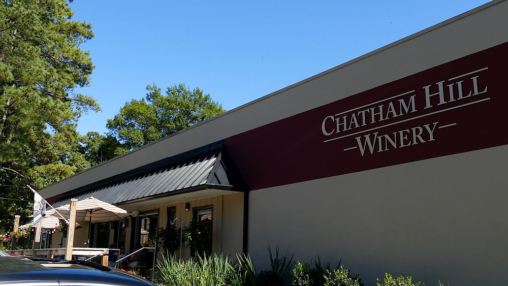 Chatham Hill Winery & Partial Patio View