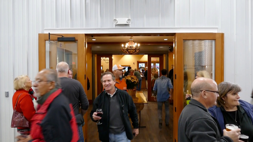 Lots of Room at Westbend Winery & Brewery