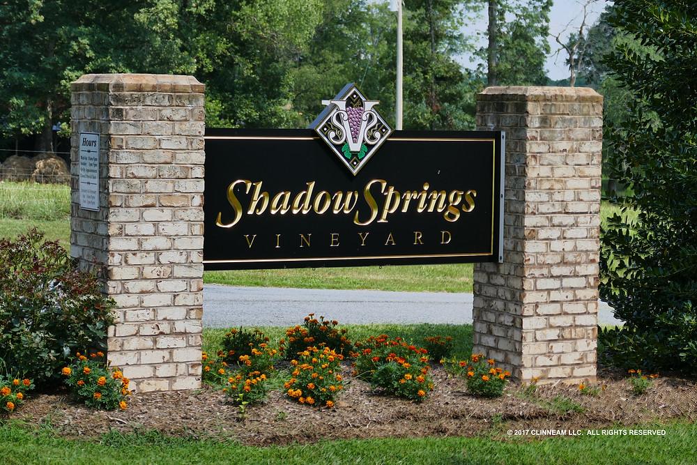 Shadow Springs Vineyard - Hamptonville NC