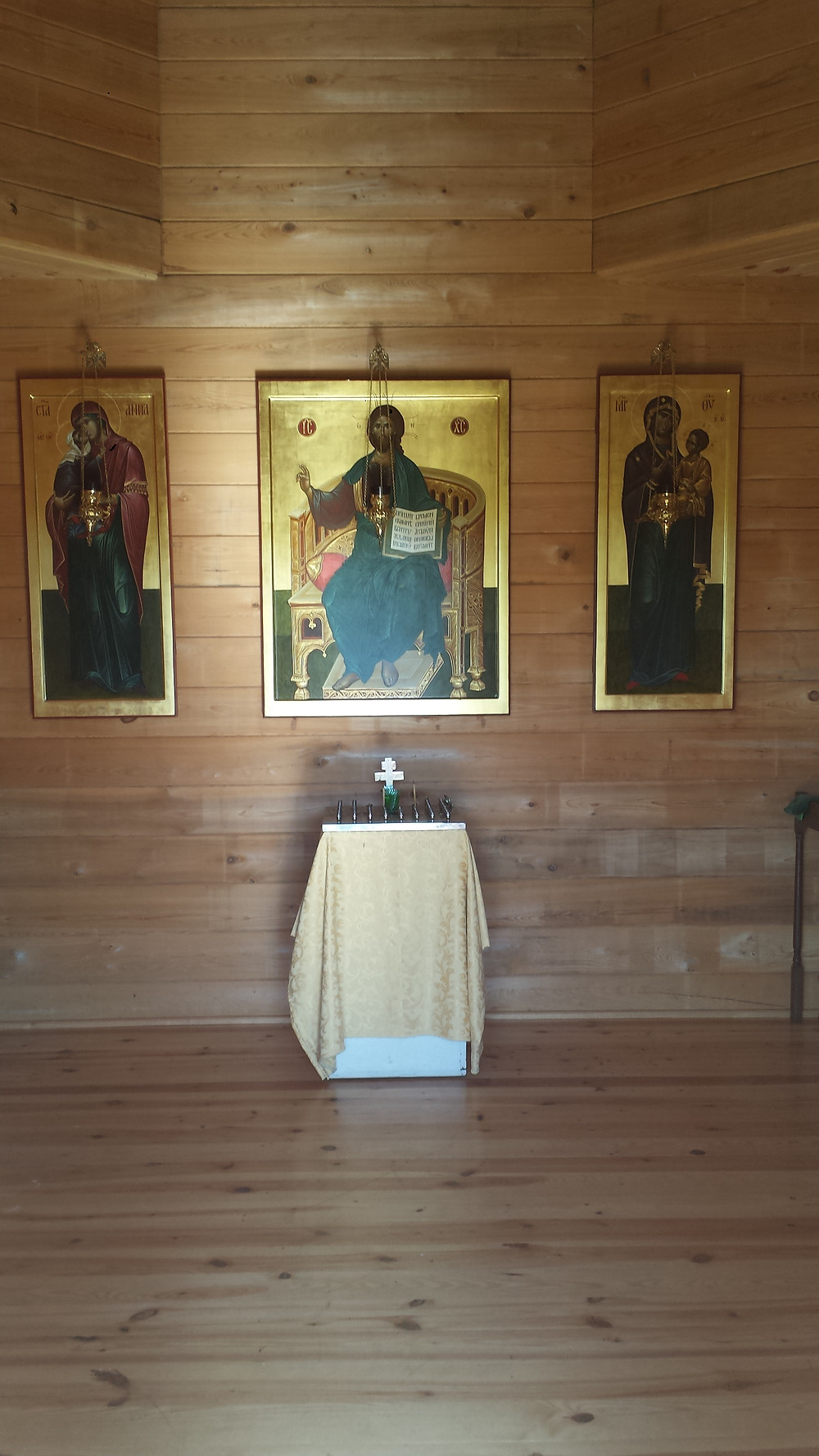 Inside the St. Anna Chapel
