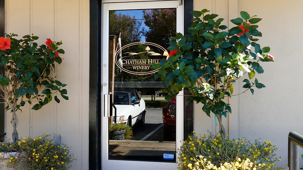 Chatham Hill Winery Front Door