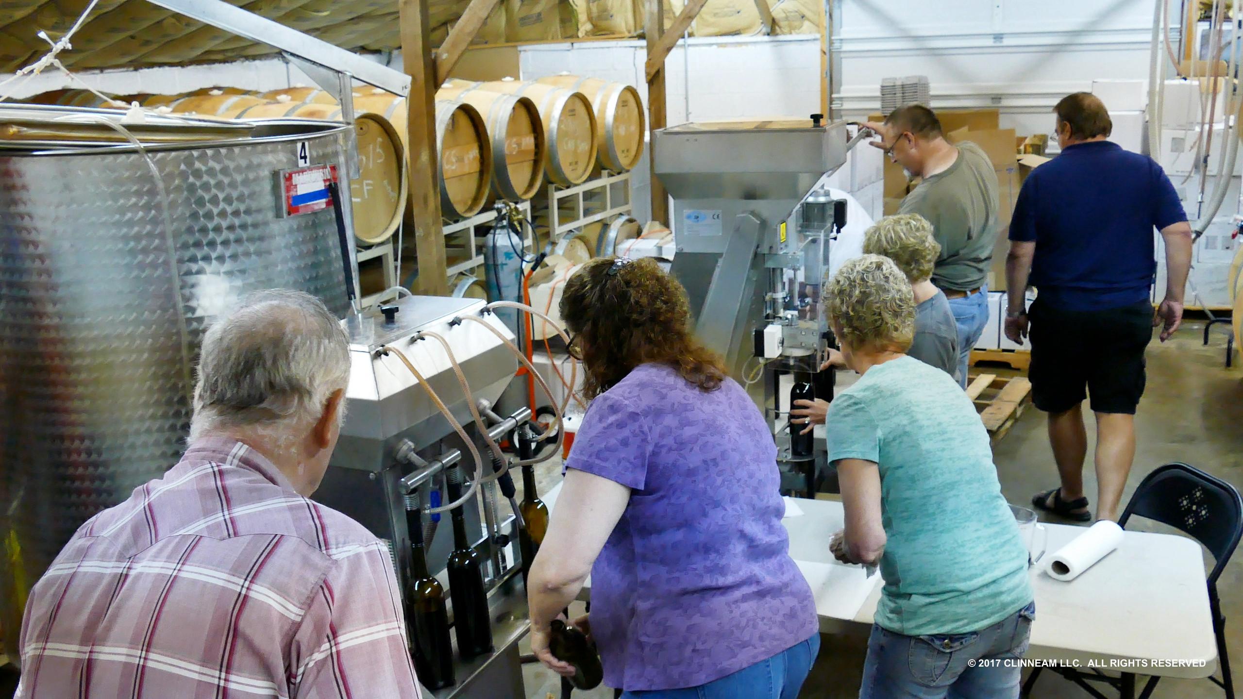 south Creek Winery Bottling