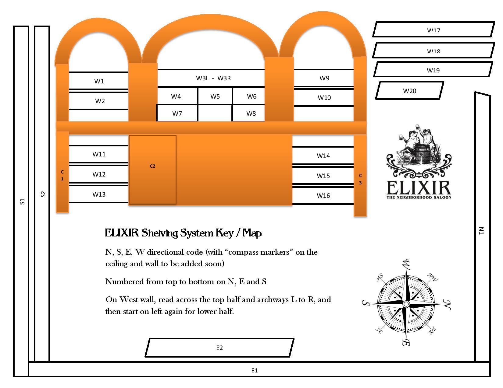 20180321 Elixir Shelving System Key 20180321 Compass Model Menu version-page-001