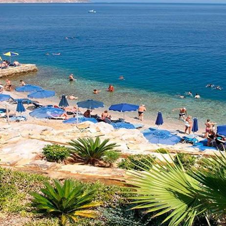 Enjoy Aegean blue waters