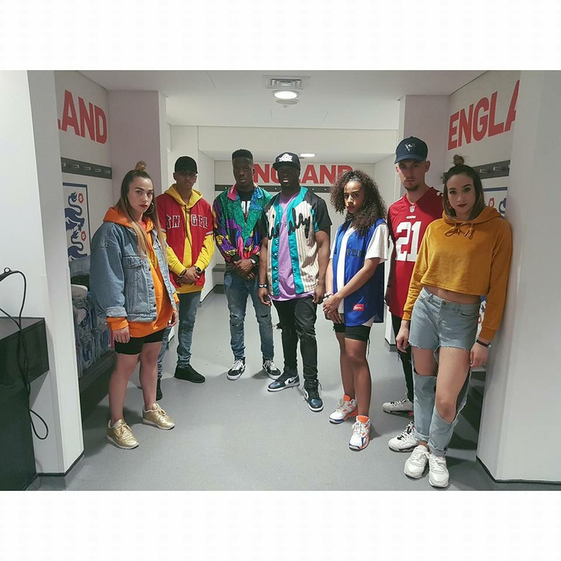 Backstage at Capital's Summertime Ball Dancing For Jax Jones
