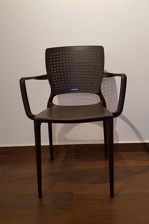 Cadeira tramontina sofia marrom