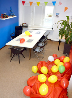 sala z balonami
