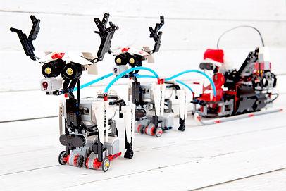 LEGO mikołaj
