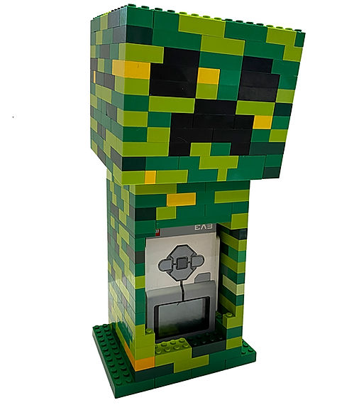 Creeper z Minecraft i LEGO Mindstrorms EV3