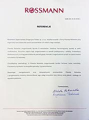 Referencje Rossmann