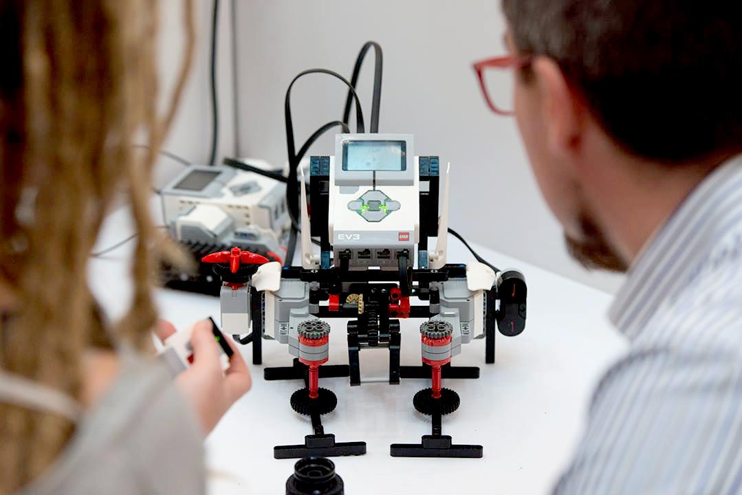 Robot - trickster | LEGO Mindstorms