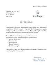 Referencje  LeanForge