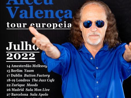 Nueva fechas para la gira europea de Alceu Valença