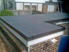 EPDM Rubbercover Flat Roof