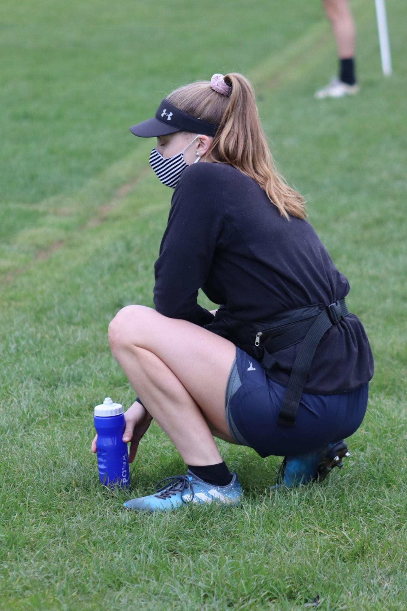Bronwyn on the sideline