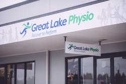Great Lake Physio main entrance