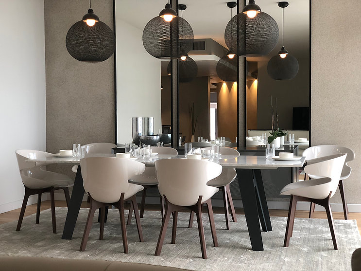 Project Silo - Cape Town - Dining Room