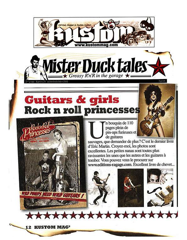chronique Kustom Mag septembre 2010