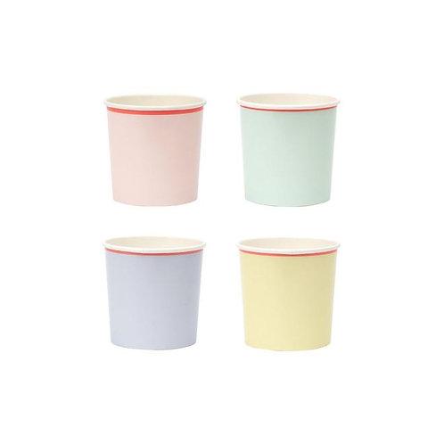 Pastel Neon Edge Tumbler Cups