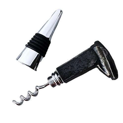 Wholesale Railroad Spike Bottle Stopper & Corkscrew