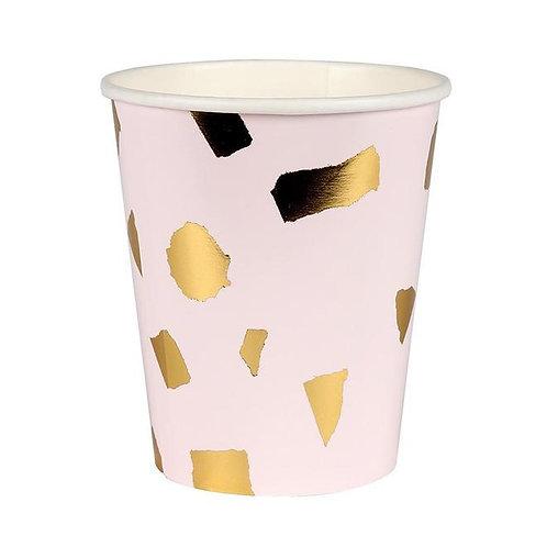 Terrazzo Blush Cups