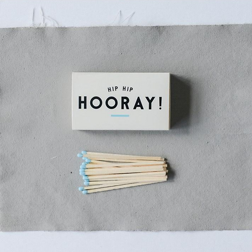 """4-1/4""""L Blue Tip Safety Matches"""