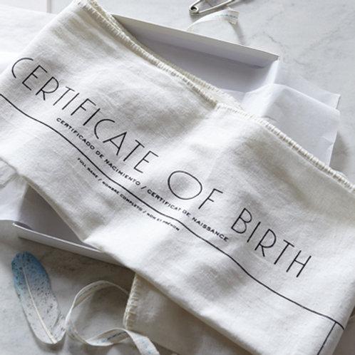 Organic Heirloom Swaddler Blanket