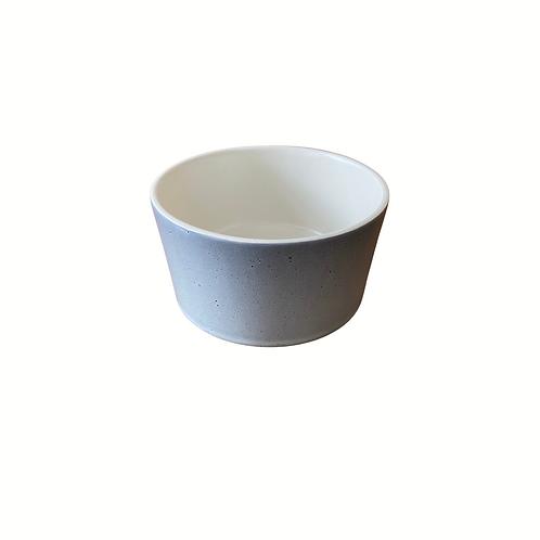 Ceramic Gray Ramekin