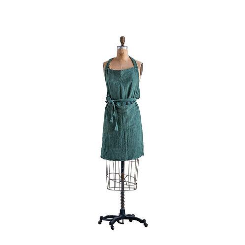 Green Apron w/Pocket