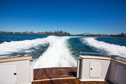 Leave Sydney Harbour in your wake