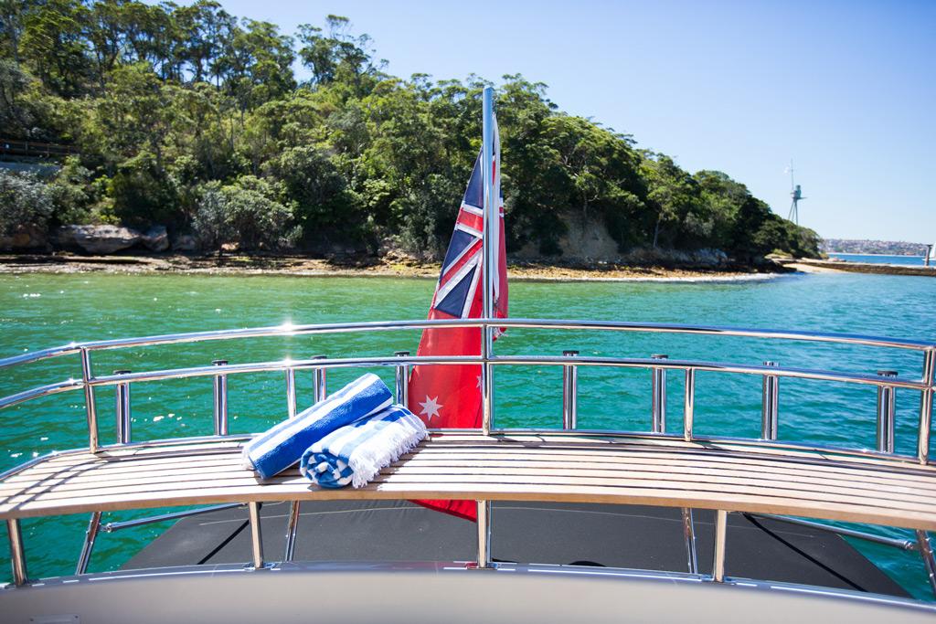 MV Enterprise at HMAS Sydney