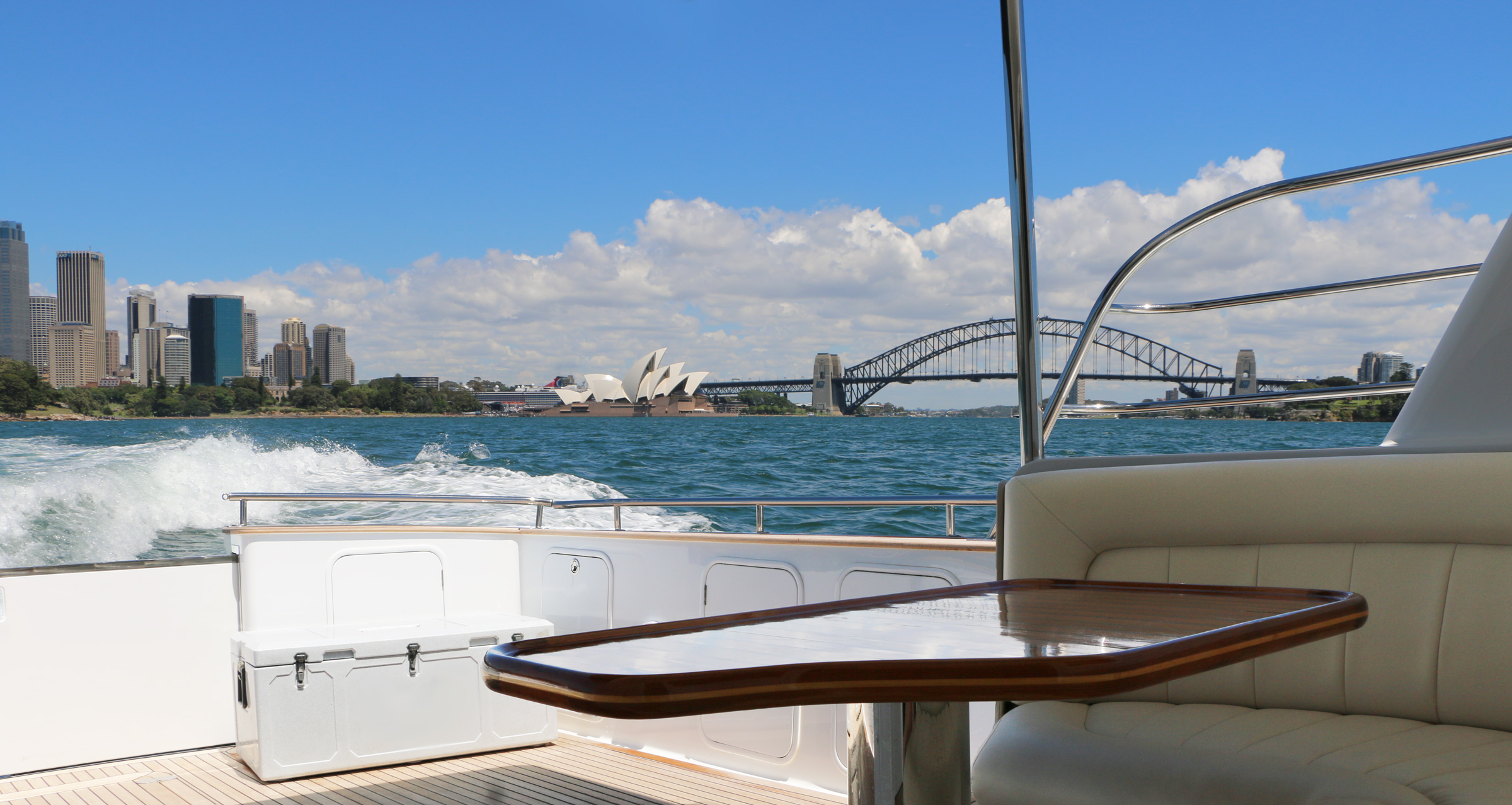 Private Charter on Sydney Harbour