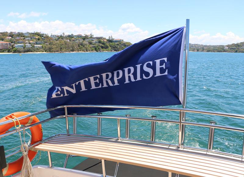 MV Enterprise at Mosman