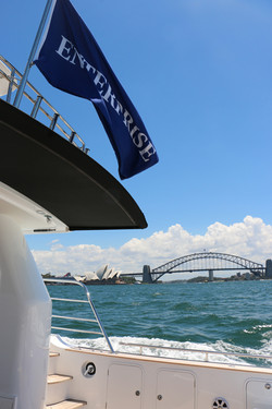 MV Enterprise on Sydney Harbour