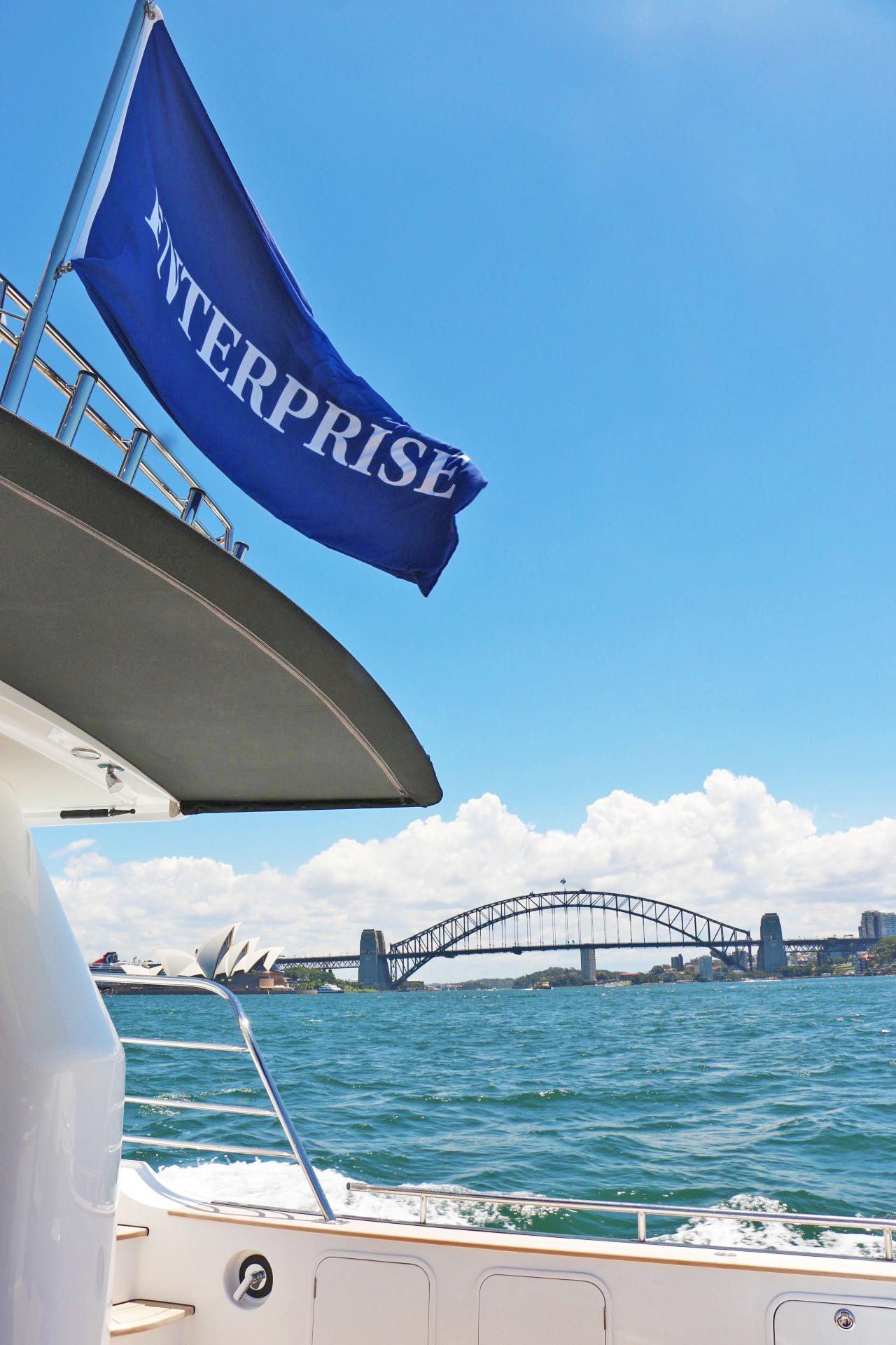 MV Enterprise Sydney Harbour