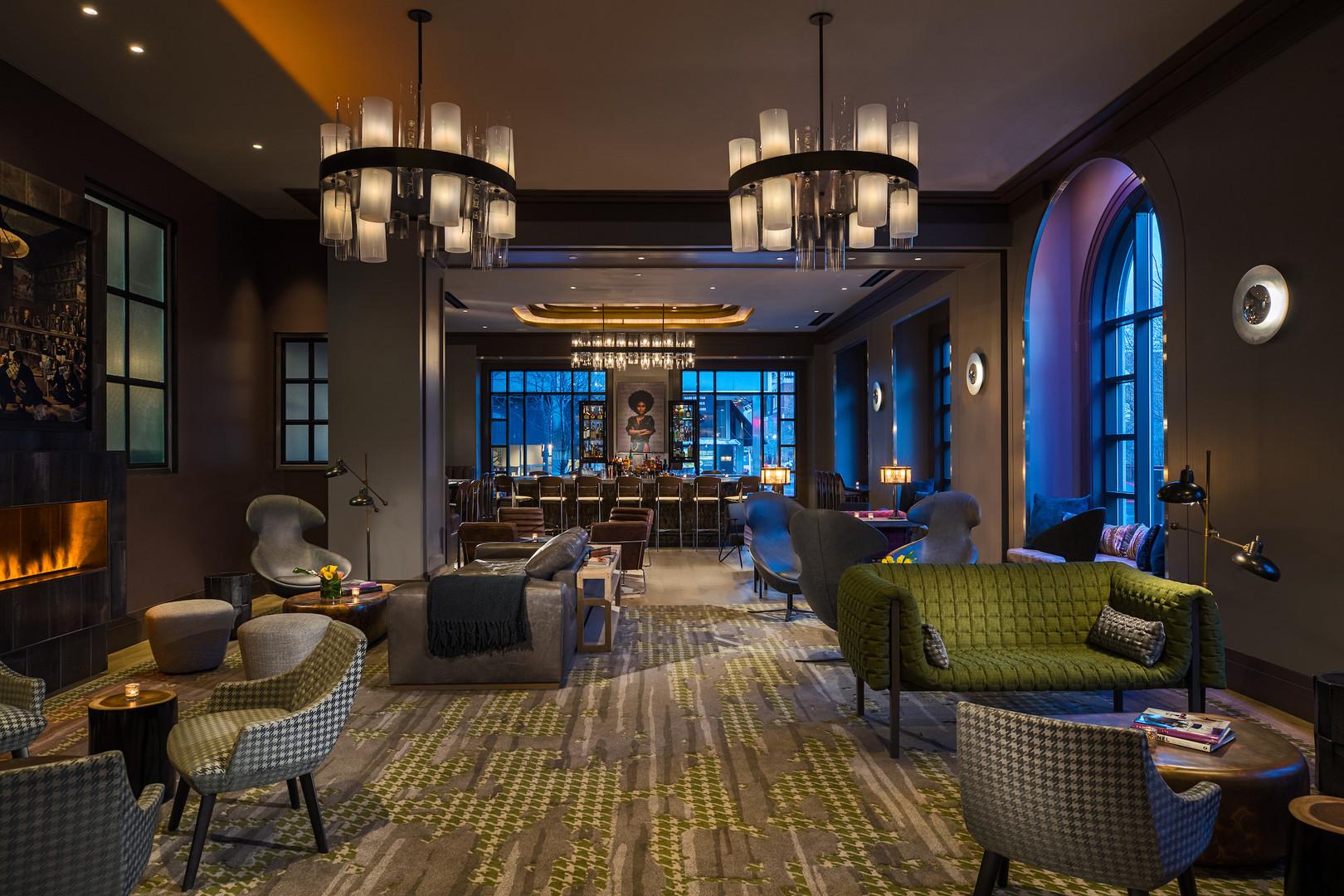 Franklin Social Lounge Area