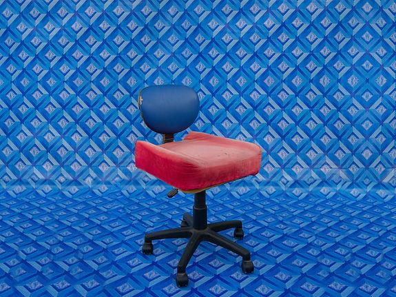 Christopher Benton_Ikea chair with car s