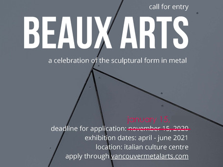 2021 Call for Submissions | Beaux Arts
